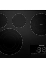 "KitchenAid Kitchenaid 30"" Electric Cooktop Black"