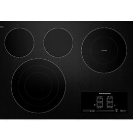 "KitchenAid Kitchenaid 30"" Electric Cooktop Black"