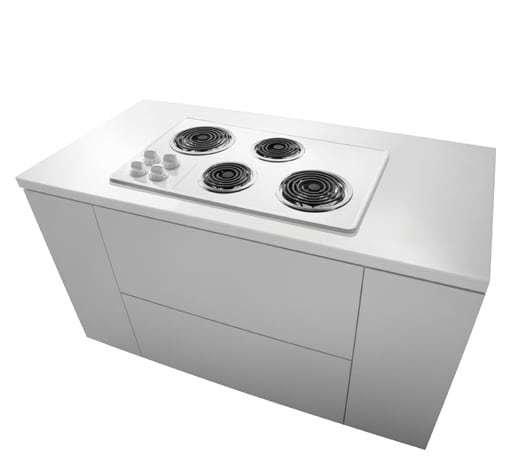 """Frigidaire Frigidaire 32"""" Electric Cooktop White"""