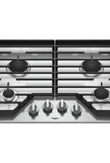"""Whirlpool Whirlpool 30"""" Gas Cooktop Stainless"""