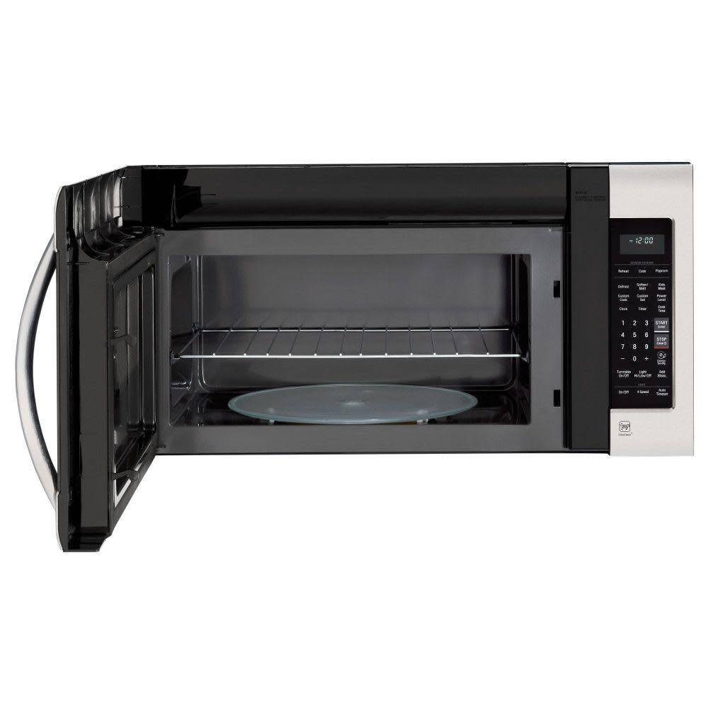 LG LG 2.0 OTR Microwave Stainless