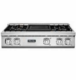 "Thermador Viking 36"" Gas Rangetop Stainless"