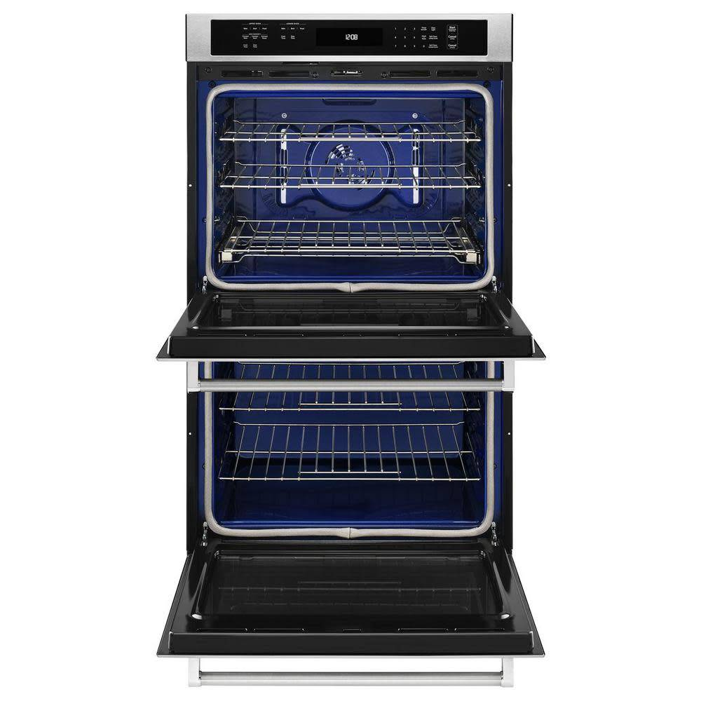 """KitchenAid KithchenAid 27"""" Convection Double Wall Oven Stainless"""