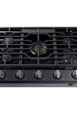 "Samsung Samsung Chef 36"" Gas Cooktop Black Stainless"