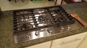 "KitchenAid Kitchenaid 30"" Gas Cooktop Stainless"