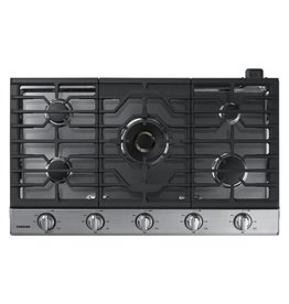 """Samsung Samsung 36"""" Gas Cooktop Stainless"""