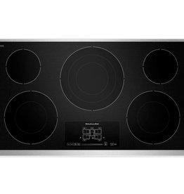 "KitchenAid Kitchenaid 36"" Electric Cooktop Stainless"