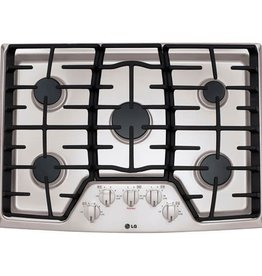 """LG LG 30"""" Gas Cooktop Stainless"""