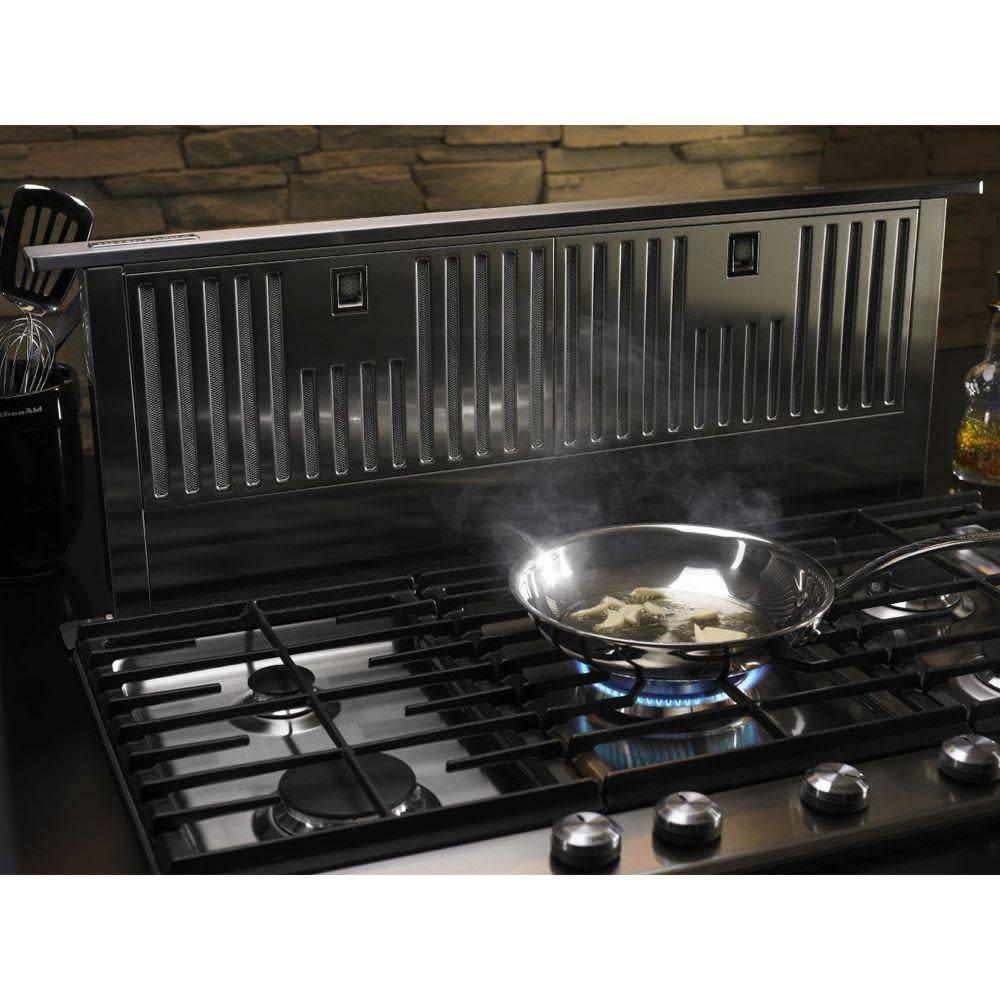 "KitchenAid Kitchenaid 36"" Telescopic Downdraft Stainless"