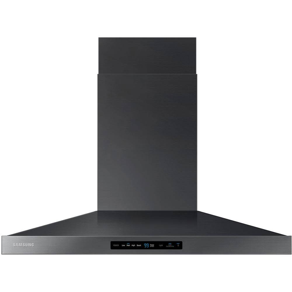 "Samsung Samsung 36"" Chimney Range Hood Black Stainless"