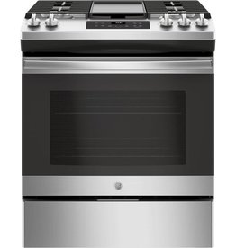 GE GE Slide-In Gas Range Stainless