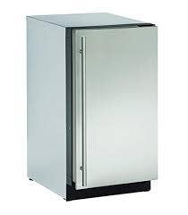 "U-Line U-Line 18"" 3.6 Built-In Mini Refrigerator Stainless"