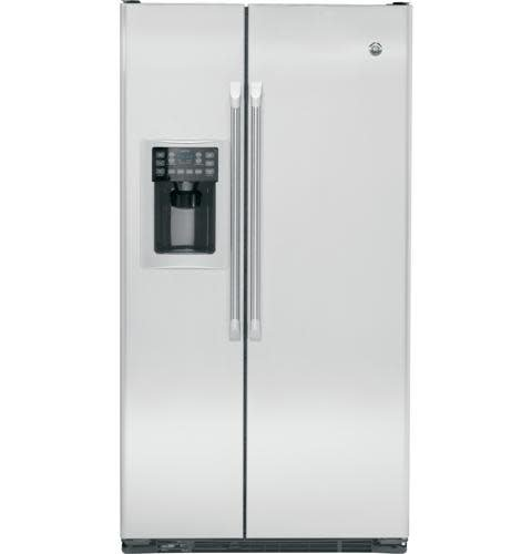 GE GE Cafe 22.1 Counter Depth SxS Refrigerator Stainless