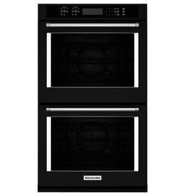 "KitchenAid KitchenAid 30"" Convection Double Wall Oven Black"