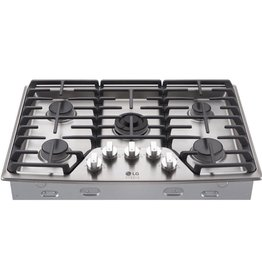 "LG LG Studio 30"" Gas Cooktop Stainless"