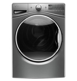 Whirlpool Whirlpool 4.5 Steam Front Load Washer Chrome