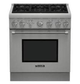"""Thermador Thermador 30"""" Slide-In Convection Gas Range Stainless"""
