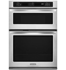 "KitchenAid Kitchenaid 30"" Microwave Convection Wall Oven Combo Stainless"