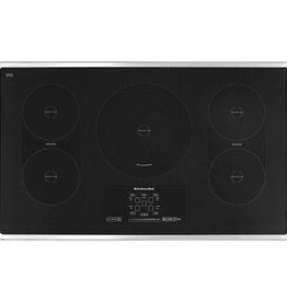 """KitchenAid Kitchenaid 36"""" Induction Electric Cooktop Stainless"""