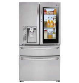 LG LG 23.0 Instaview Counter Depth French Door Refrigerator Stainless