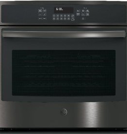"GE GE 30"" Convection Wall Oven Black Stainless"