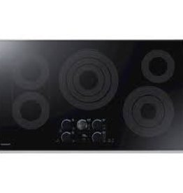 """Samsung Samsung 36"""" Electric Cooktop Stainless"""