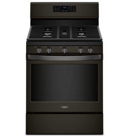 Whirlpool Whirlpool Freestanding Convection Gas Range Black Stainless