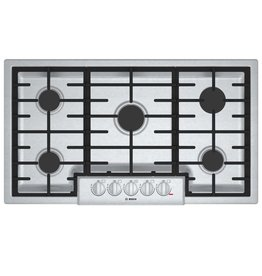"Bosch Bosch 36"" Gas Cooktop Stainless"