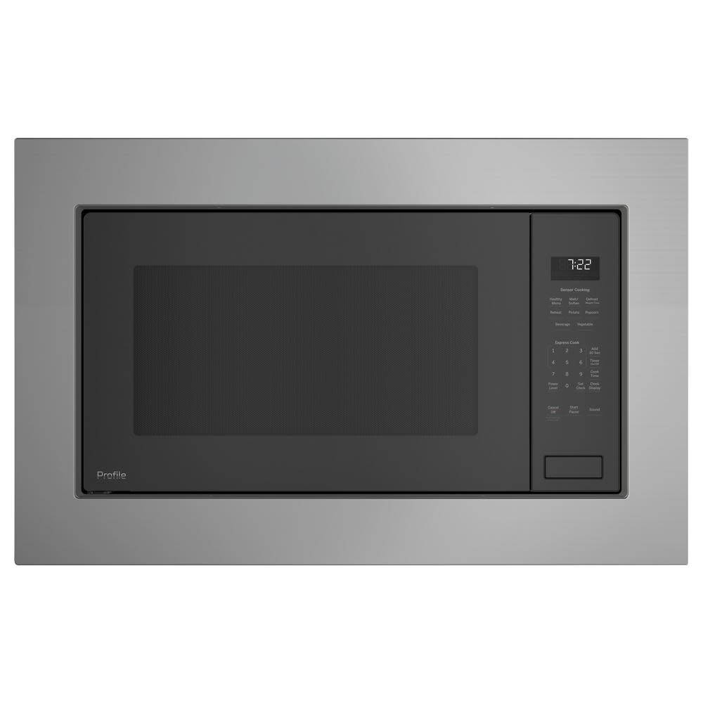 "GE GE 30"" Built-In Microwave Trim Kit Stainless"