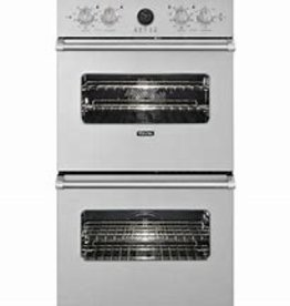 "Viking Viking 27"" Convection Double Wall Oven Stainless"