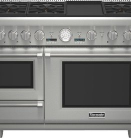 "Thermador Thermador 48"" Convection Dual Fuel Range Stainless"