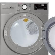 LG LG 7.4 Steam Gas Dryer Graphite