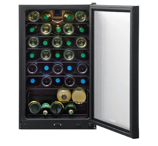 Frigidaire Frigidaire 34 Bottle Wine Cooler Black