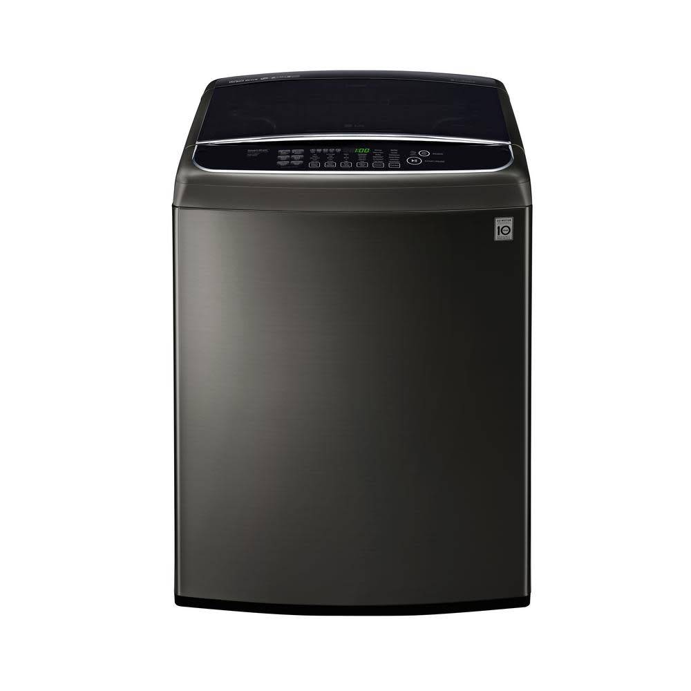 LG LG 5.0 Top Load Washer Black Stainless