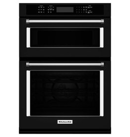 "KitchenAid KitchenAid 30"" Convection Microwave Wall Oven Black"