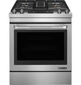 Jenn-Air Jenn-Air Slide-In Downdraft Convection Dual Fuel Range Stainless