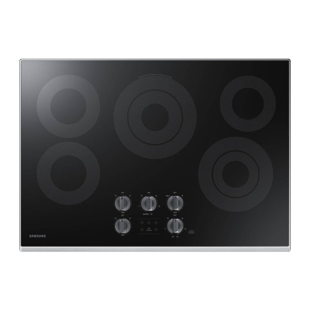 """Samsung Samsung 30"""" Electric Cooktop Stainless"""