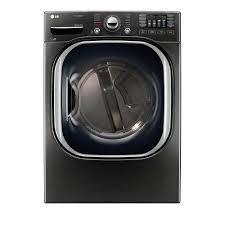 LG LG 7.4 Steam Gas Dryer Black Stainless