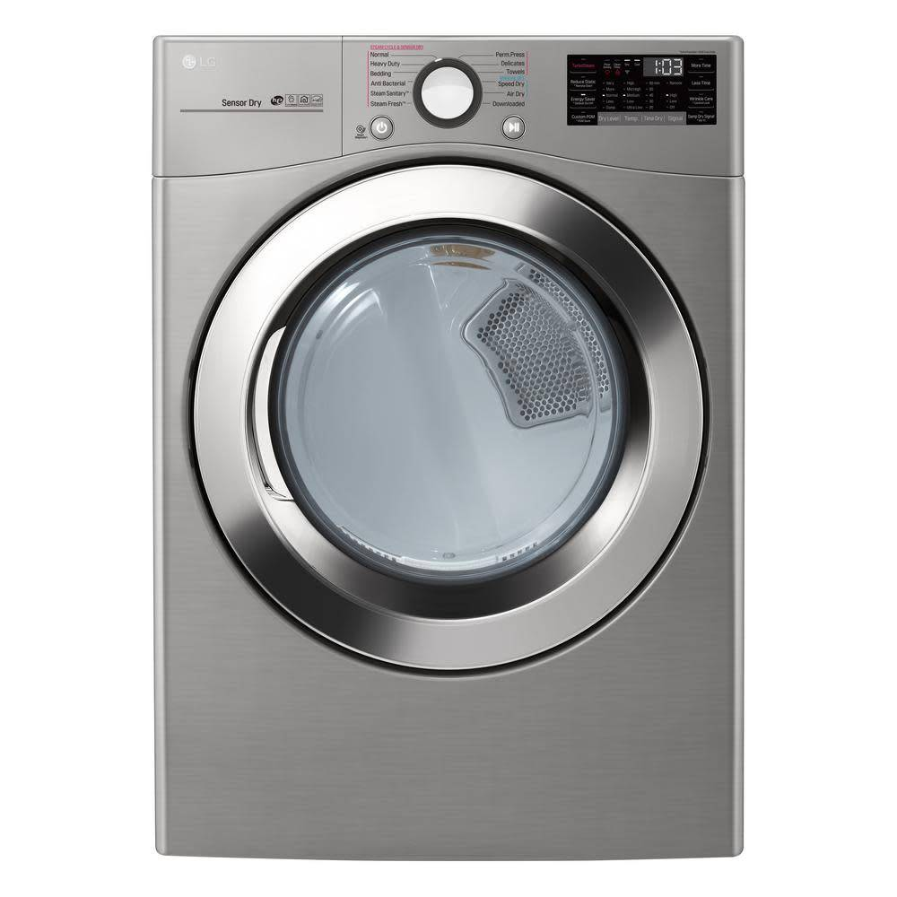 LG LG 7.4 Steam Gas Dryer Graphite