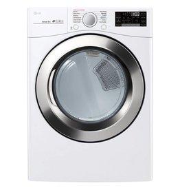 LG LG 7.4 Steam Gas Dryer White