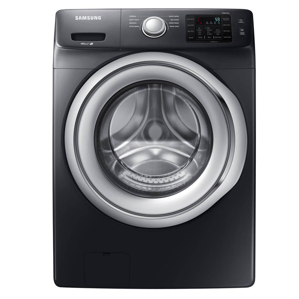 Samsung Samsung 4.5 Front Load Washer Black Stainless