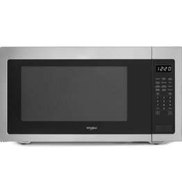 "Whirlpool Whirlpool 2.2 Countertop Microwave Stainless w/ 27"" Trim Kit"