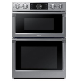 "Samsung 30"" Microwave Convection Wall Oven Combo Stainless"