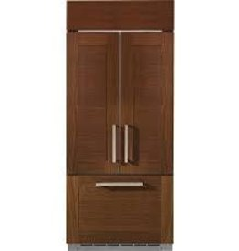"GE GE Monogram 36"" 20.6 Built-In French Door Refrigerator Panel Ready"