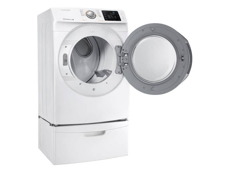 Samsung Samsung 7.4 Steam Electric Dryer White