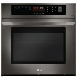 "LG LG 30"" Convection Wall Oven Black Stainless"