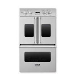 """Viking Viking 30"""" Convection French Door Double Wall Oven Stainless"""