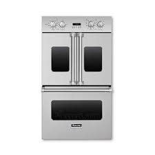 "Viking Viking 30"" Convection French Door Double Wall Oven Stainless"