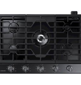 "Samsung Samsung 30"" Gas Cooktop Black Stainless"