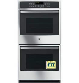 "GE GE 27"" Convection Double Wall Oven Stainless"